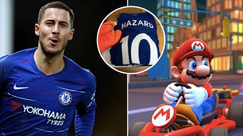 Eden Hazard's Pre-Match Routine At Chelsea Was Brilliant