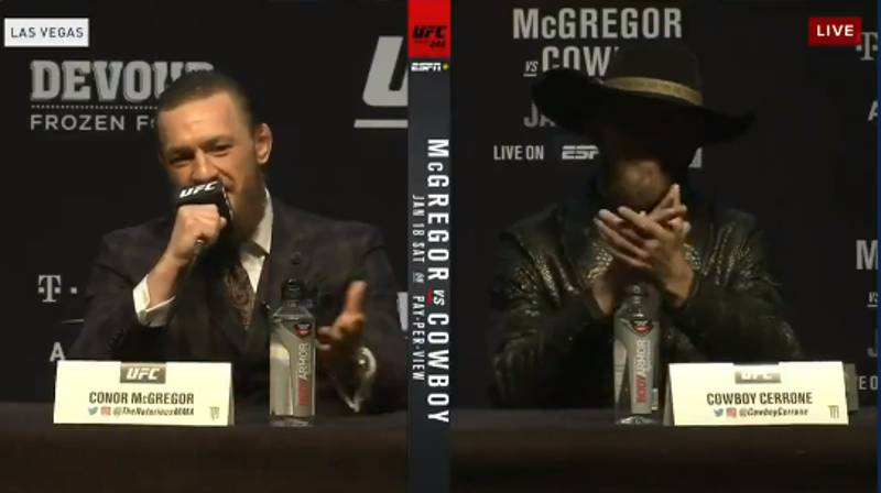 Conor McGregor Delivered His Most Respectful Trash Talk Ever During UFC 246 Press Conference