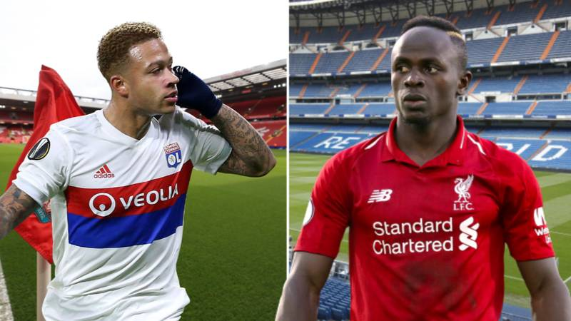 Liverpool Want To Sign Depay As Replacement For Mane If He Leaves For Real Madrid