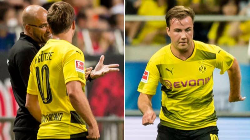 Mario Gotze Makes His Return To Borussia Dortmund After Serious Illness