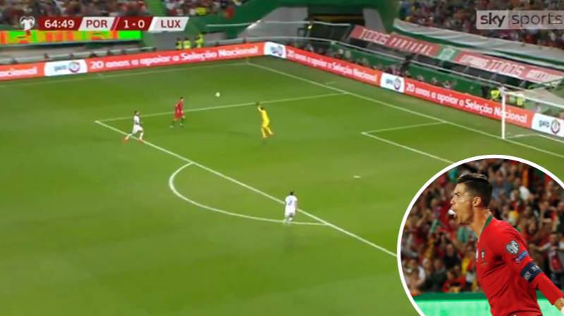 Cristiano Ronaldo Scores Stunning Chip For Portugal In 3-0 Win Over Luxembourg