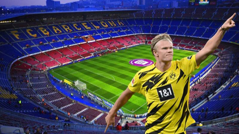 Barcelona Presidential Candidate Claims To Have Agreed A Deal To Sign Erling Haaland