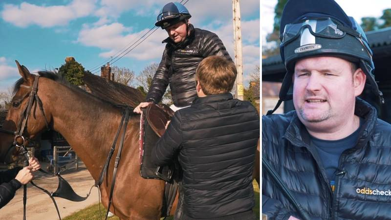 Manchester United Superfan Andy Tate Is Set To Race In The Grand National