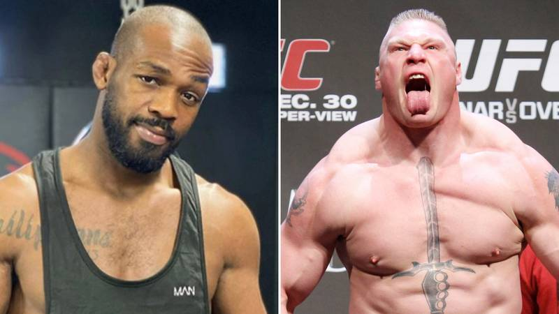 Jon Jones Shows Off His Incredible Physique Ahead Of Potential Heavyweight Clash With Brock Lesnar