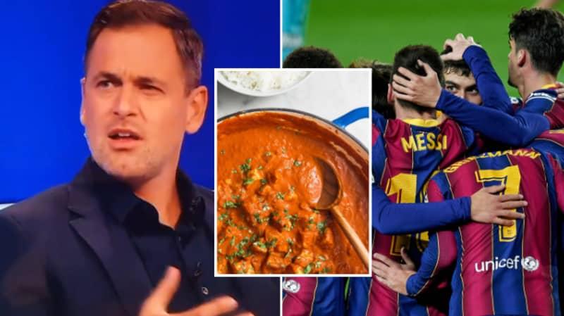 Joe Cole Accidentally Called Barcelona's Academy 'The Masala' Live On-Air