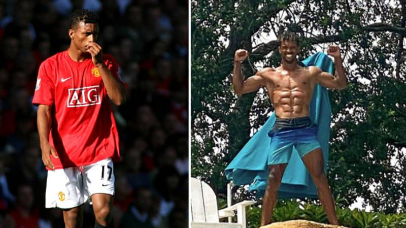 Former Manchester United Winger Nani Is Now Ripped Out Of His Head