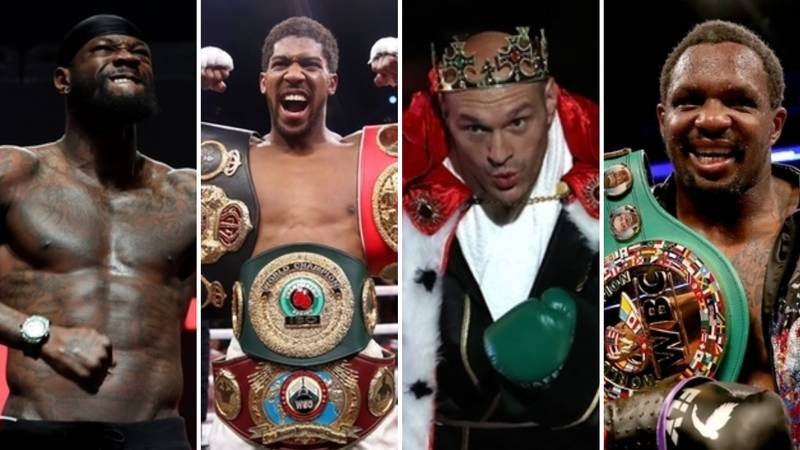 Current Heavyweight Stars' Rankings In Boxing's Four Major Organisations Revealed