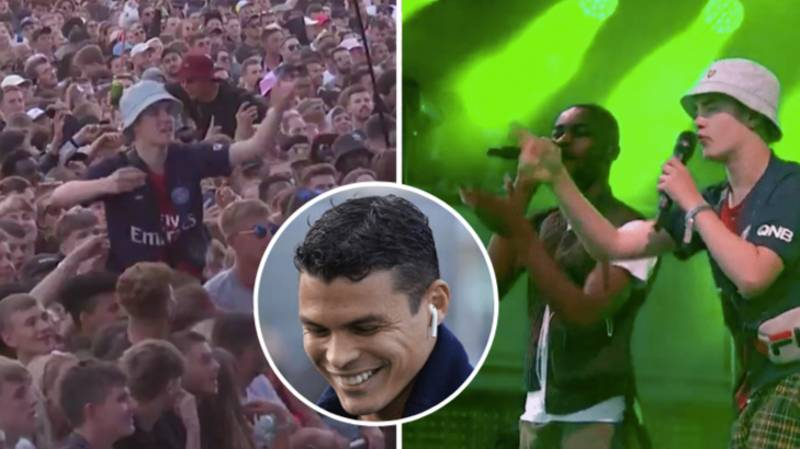 Thiago Silva Responds To Fan From Glastonbury Crowd Who Performed 'Thiago Silva' Song