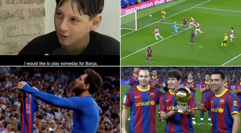 Lionel Messi's Barcelona Career Highlights Compiled In Incredible Tribute Video