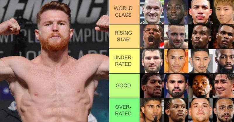 Boxing's Best Fighters Ranked From 'Pound-For-Pound King' To 'Not A Boxer'
