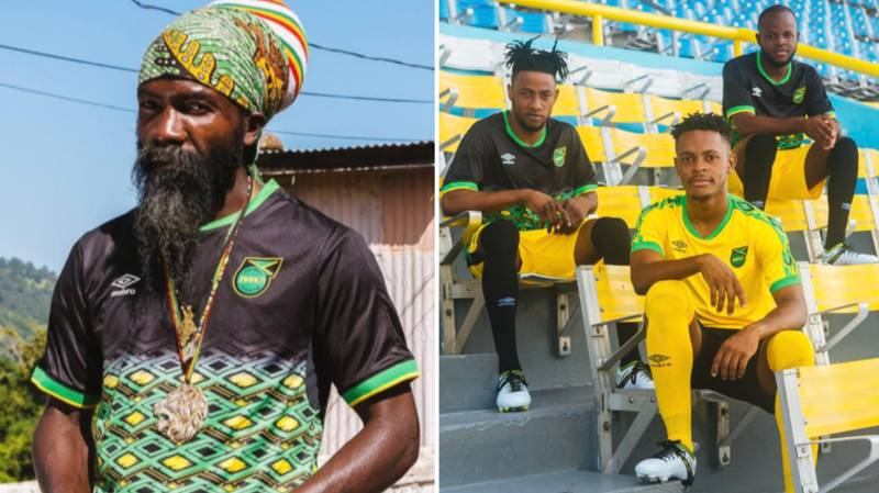 Jamaica's Stunning New Kits Deserve Nigeria Levels Of Recognition