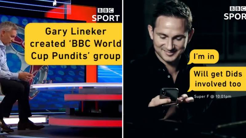 BBC Announce Their World Cup Pundit List In Brilliant Fashion