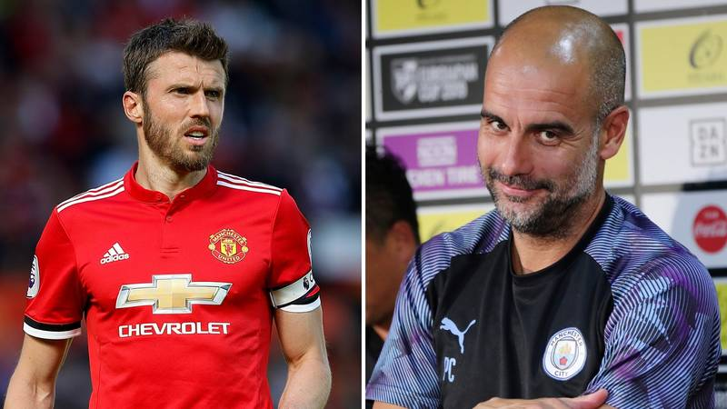 Pep Guardiola Says Michael Carrick Is 'One Of The Best Holding Midfielders I've Ever Seen'