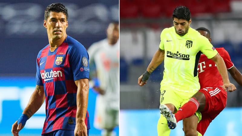 Luis Suarez Has Been Decimated By Bayern Munich In The Champions League Yet Again