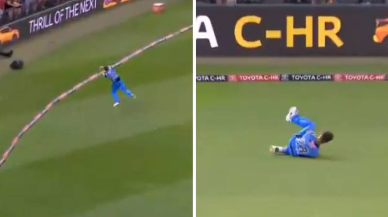 Adelaide Strikers Take The Greatest Team Catch You'll See