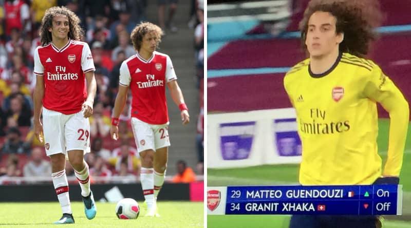 West Ham Stadium Announcer Mixes Up Matteo Guendouzi Substitution With David Luiz