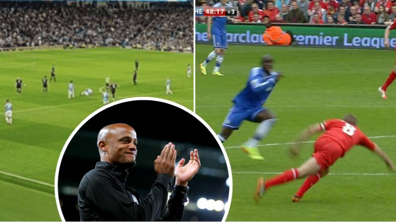 Liverpool Fans Rage At Man City Supporters For Singing About Gerrard During Kompany's Testimonial