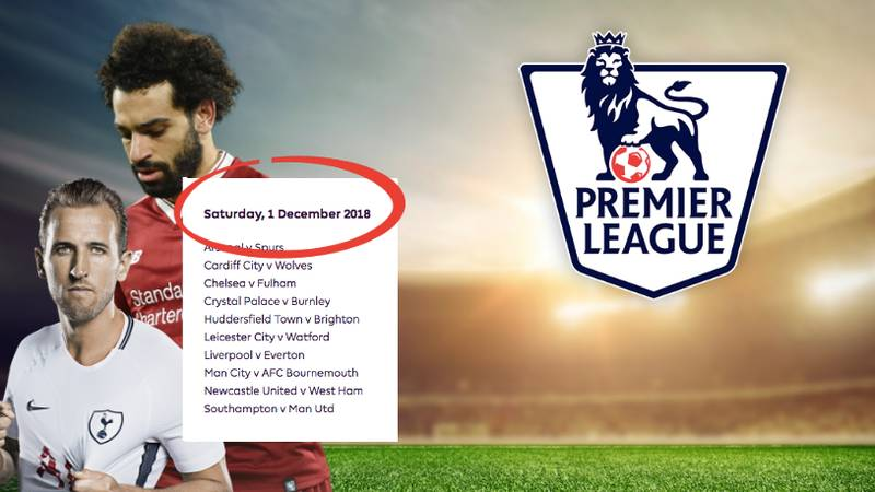 There's A Conspiracy Theory Surrounding The 2018/19 Premier League Fixture List