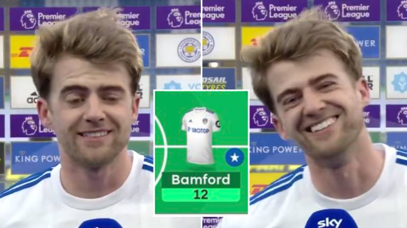 Patrick Bamford Hilariously Explains His Unselfish Decision To Pass Despite Being In His Own Fantasy Team
