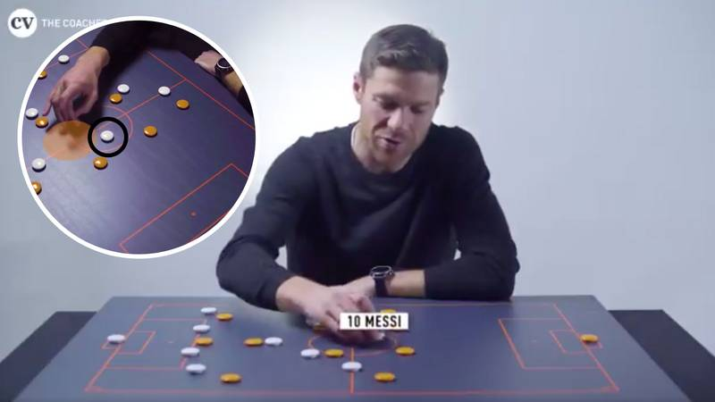 Xabi Alonso Explains Why It Was So Hard To Defend Against Lionel Messi In The False Nine Role