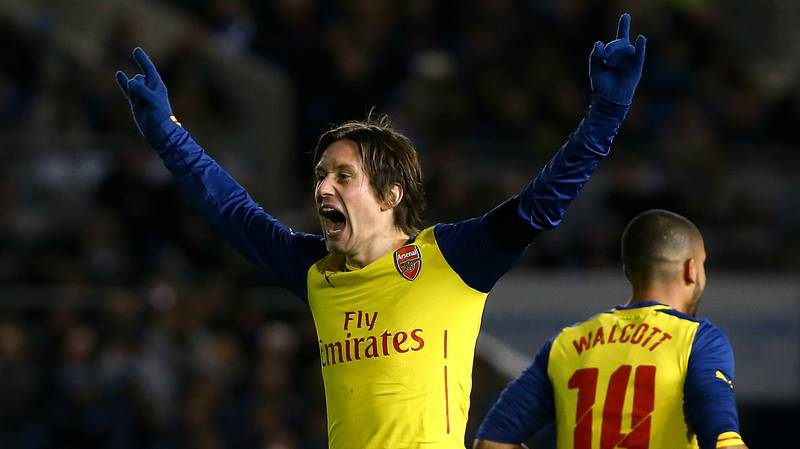 Tomas Rosicky Sends Classy Message To Arsenal Fans After Announcing Retirement