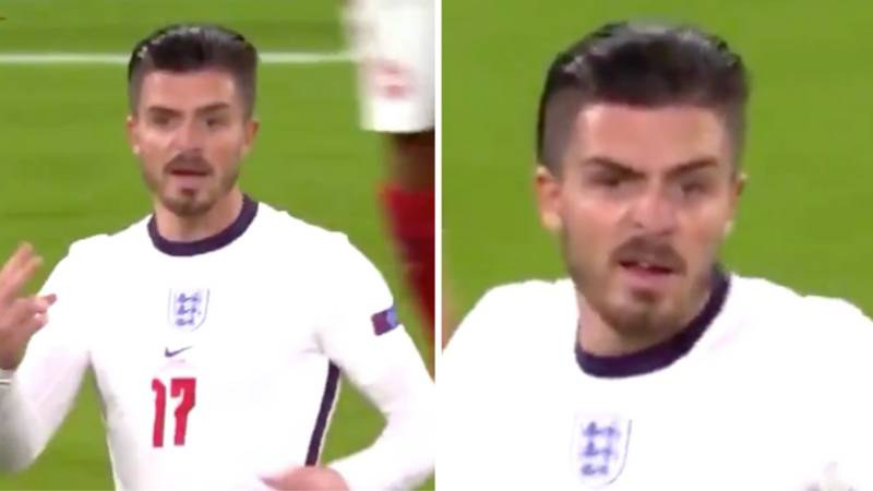 Fans Spotted What Jack Grealish Thought Of Gareth Southgate's Tactics Against Denmark