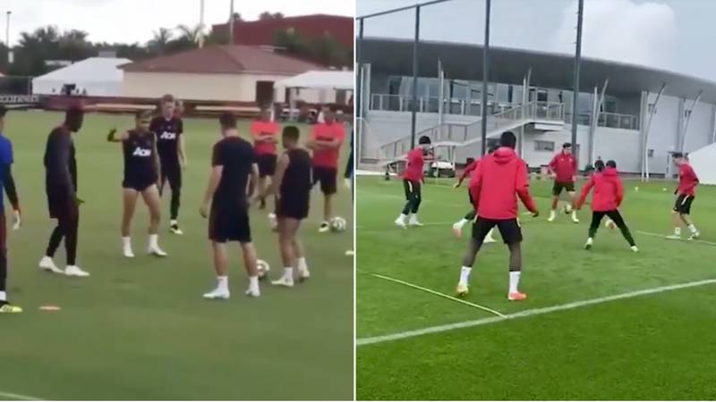 Video Shows The Difference In Manchester United's Rondo Under Jose Mourinho And Ole Gunnar Solskjaer