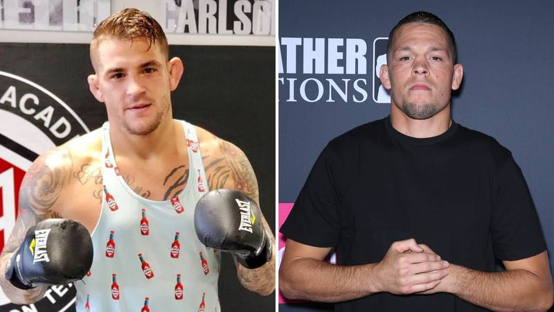 Dustin Poirier Calls Out Nate Diaz And Claims He 'Still Wants To Beat His A*s'