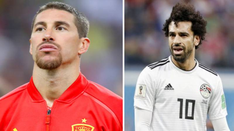 Sergio Ramos Trolls Mohamed Salah On Instagram After Egypt Defeat