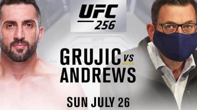 Former UFC Star Vik Grujic Wants To Fight Victorian Premier Daniel Andrews