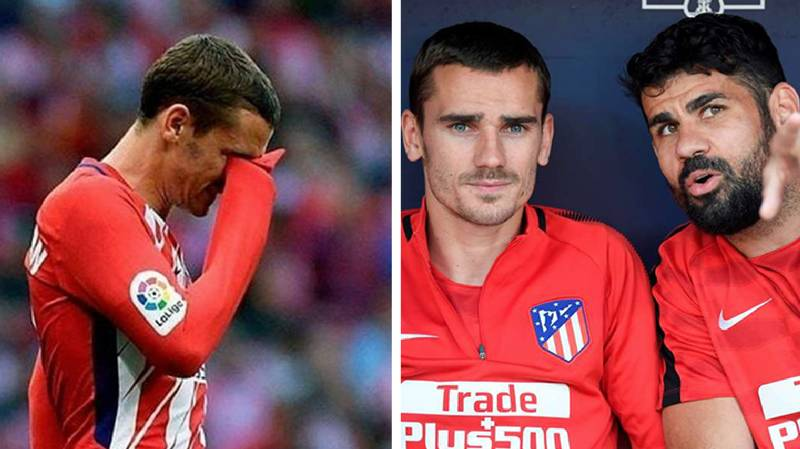 What Happened To Antoine Griezmann When He Came On For Atletico