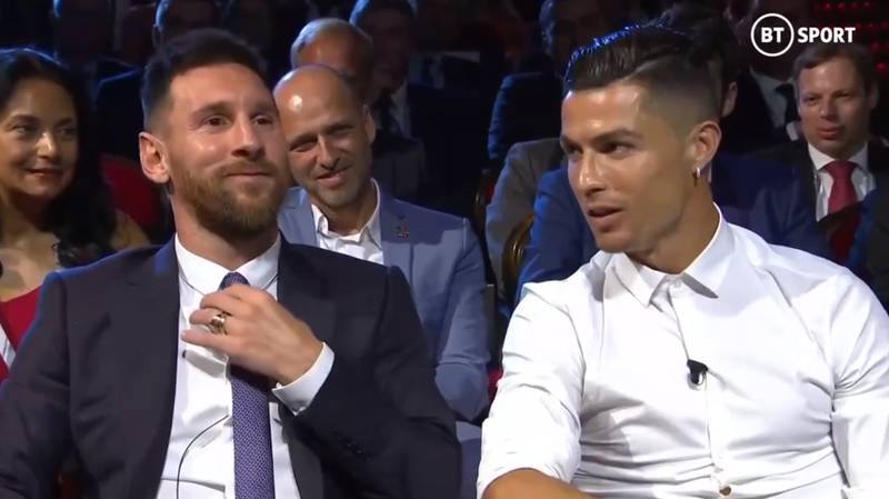 Cristiano Ronaldo And Lionel Messi's Friendly Rivalry Was Summed Up At Champions League Draw
