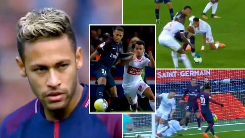 Highlights Of Neymar's Incredible 17/18 Season At PSG Prove Football Comes So Easily To Him