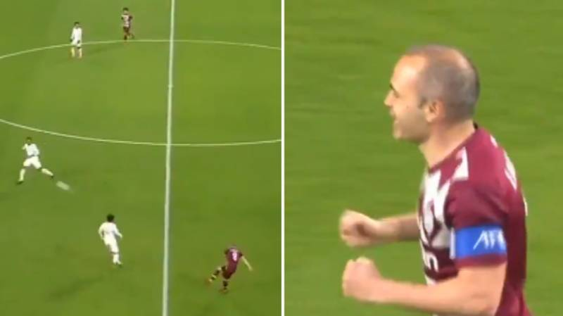 Andres Iniesta Shows His Class With Brilliant Assist For Vissel Kobe