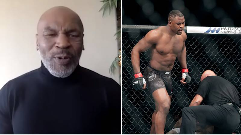 "Mike Tyson Reacts To Francis Ngannou's ""Vicious"" 20 Second Victory At UFC 249"