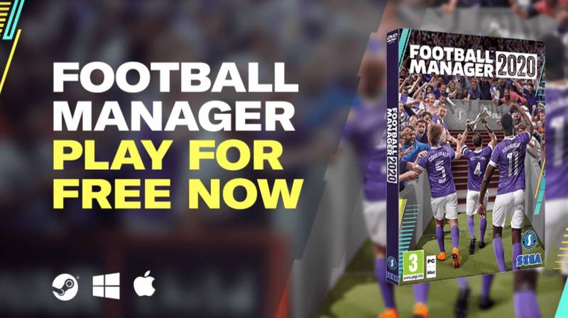 Football Manager 2020 Is Free For A Week To Combat Boredom