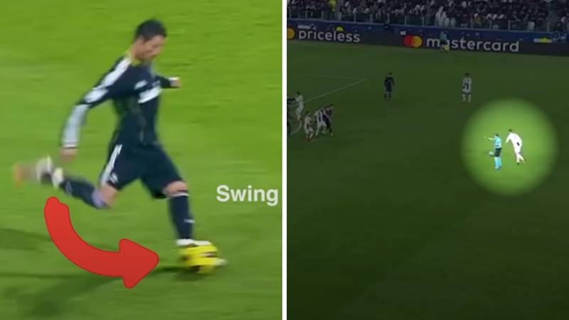 Cristiano Ronaldo's Free-Kick Has Been Analysed By A Sports Scientist And It's Fascinating