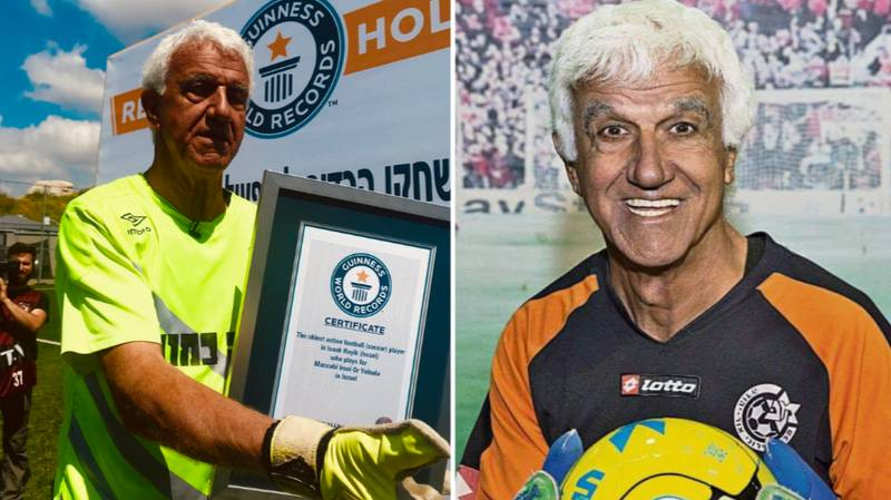 73-Year Old Goalkeeper Breaks Guinness World Record For Oldest Active Player To Play An Official Match