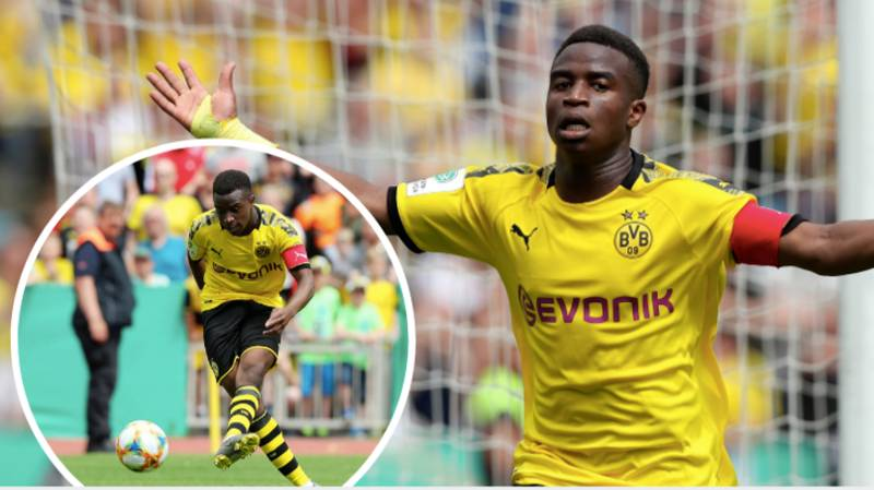 14-Year Old Youssoufa Moukoko Scored An Eight Minute Hat-Trick For Borussia Dortmund Under 19's