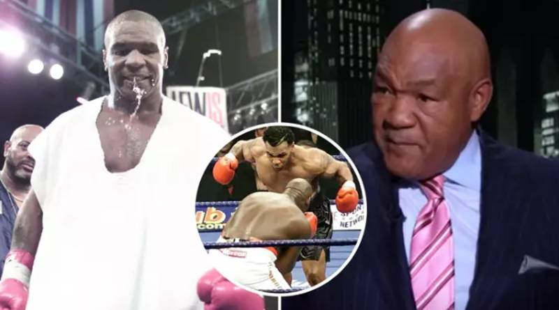 George Foreman Brilliantly Explains Why He Passed Up A Fight With Mike Tyson