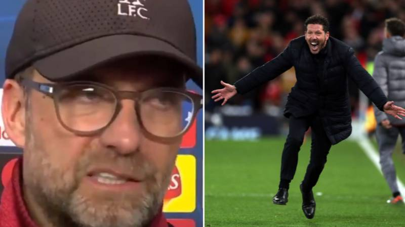 Jurgen Klopp Blames Atletico Madrid Style Of Play For Champions League Defeat