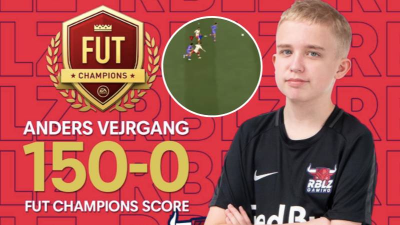 14-Year-Old Anders Vejrgang Has Gone 150-0 On FUT Champs
