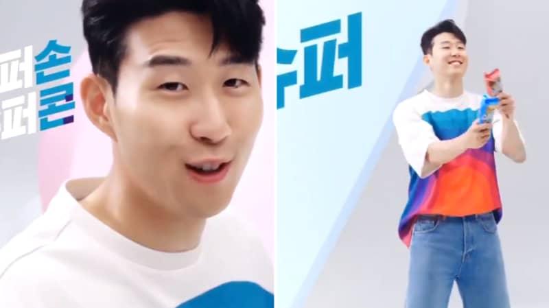 Son Heung-min's Dancing In Ice Cream Advert Is Amazing
