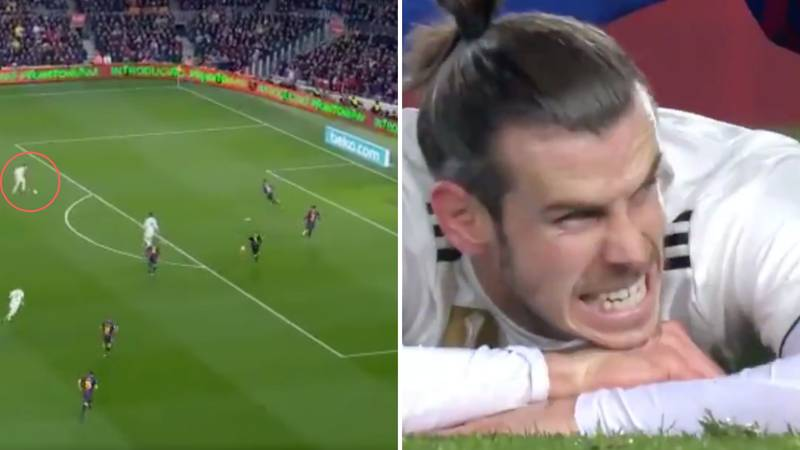 Gareth Bale Misses A Golden Opportunity To Score The Winner In El Clásico