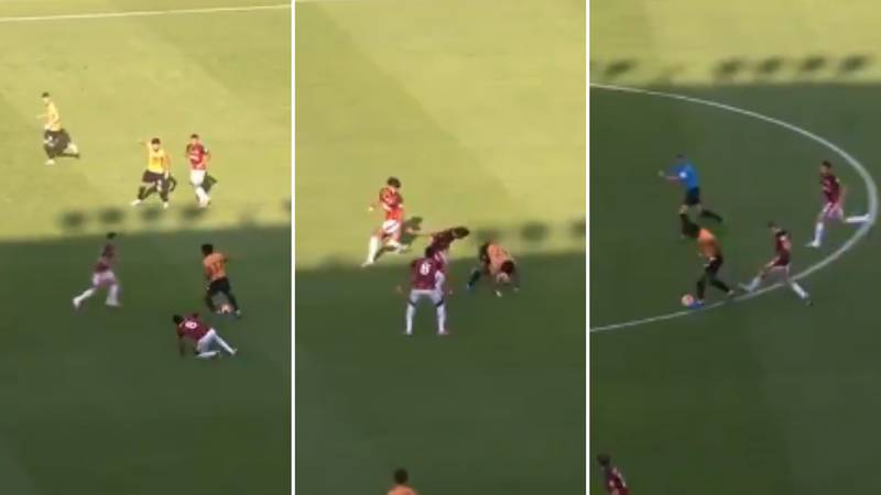 Adama Traore Proves He's A Human Cheat Code With Remarkable Skill & Strength Vs Bournemouth