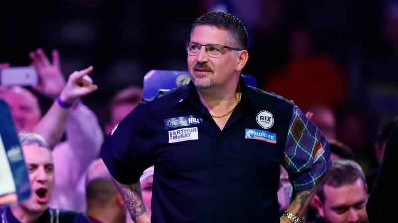 Gary Anderson Forced To Pull Out Of PDC Darts Tournament Due To Poor WiFi