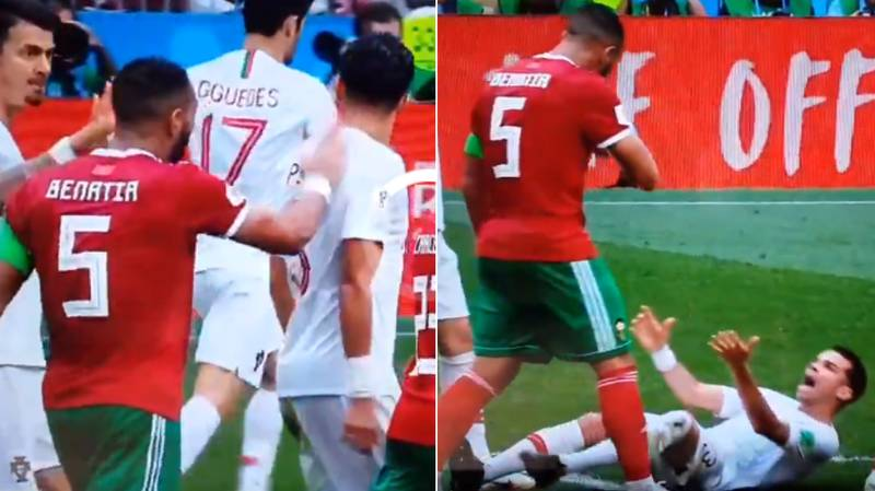 Gary Lineker Doesn't Hold Back After Pepe's Embarrassing Dive Against Morocco