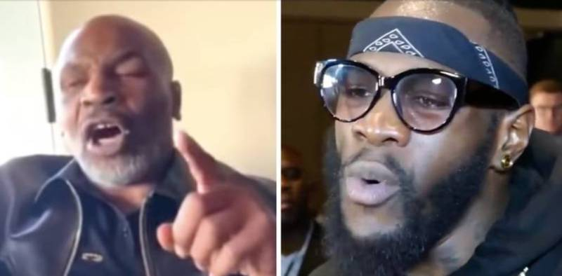 "Mike Tyson Brutally Tells Deontay Wilder To ""Grow Up"" And Stop Feeling Sorry For Himself"