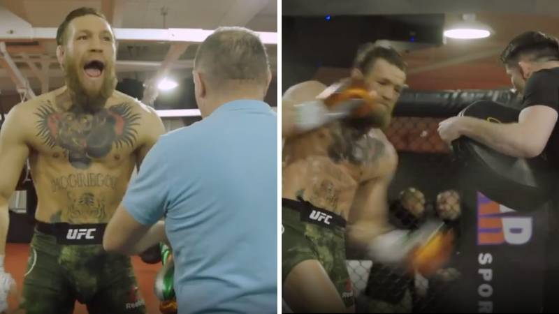 Conor McGregor Releases First Look Inside His Training Camp Ahead Of Donald Cerrone Fight