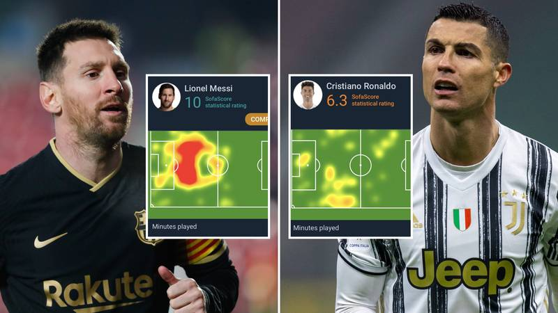 Viral Tweet Shows 'The Difference' Between Lionel Messi & Cristiano Ronaldo When They Don't Score